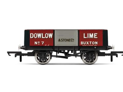 Hornby R6947 Dowlow Lime, 5 Plank Wagon - No. 7