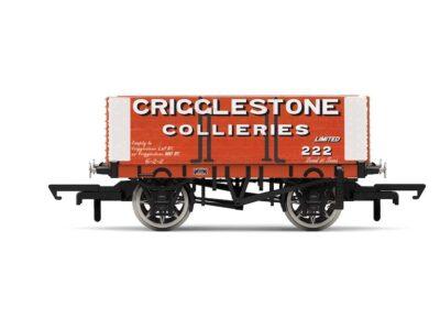 Hornby R6949 Crigglestone Quarries 6 Plank Wagon, No. 222