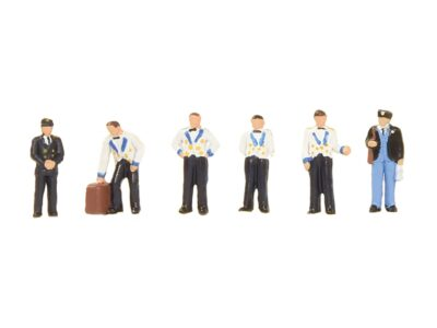 Graham Farish 379-322 Midlands Pullman Stewards & Train Crew Figures