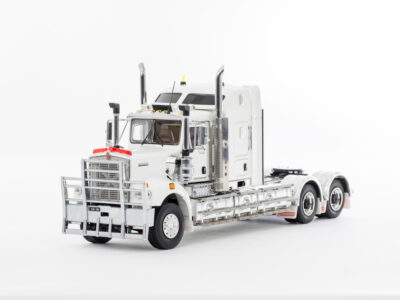 Drake Collectibles Z01523 Kenworth C509 Sleeper White - Black Chassis